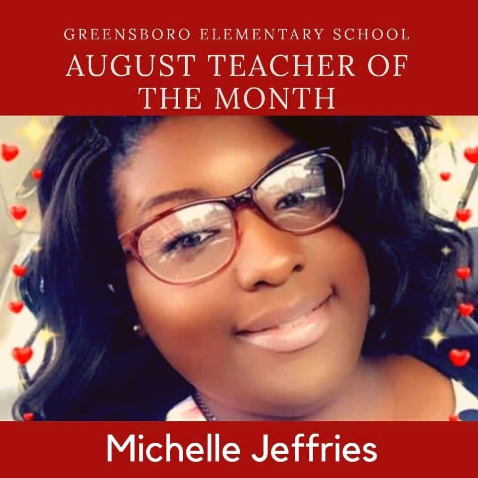Congratulations Ms. Jeffries
