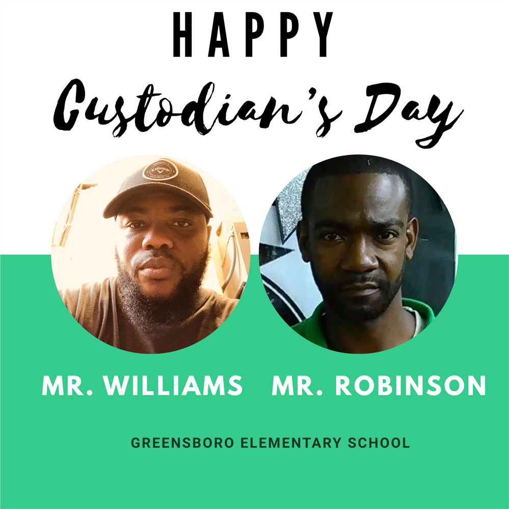 Happy Custodian's Day!