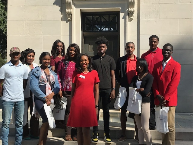 Juniors and Seniors Attend GEAR UP Alabama Day at The University of Alabama